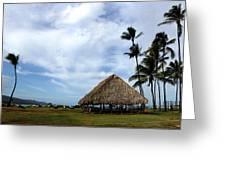 Kukulu Hale Kahului Maui Hawaii Panorama Greeting Card