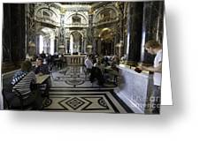 Kunsthistorische Museum Cafe Greeting Card