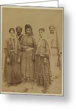 Kurdish Pheasants Greeting Card