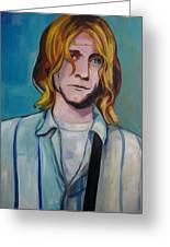 Kurt Cobain 3 Greeting Card