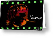 Kurt Cobain Nirvana Greeting Card