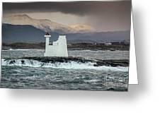 Kvitholmen Lighthouse Greeting Card