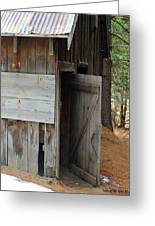 Kyburz Barn 3 Greeting Card