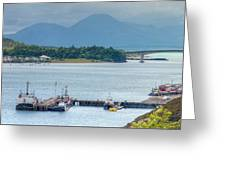 Kyle Of Lochalsh And The Isle Of Skye, Greeting Card