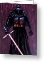 Kylo In Red Greeting Card