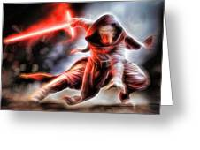 Kylo Ren I Will Fulfill Our Destiny Greeting Card