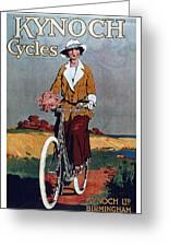 Kynoch Cycles - Bicycle - Vintage Advertising Poster Greeting Card