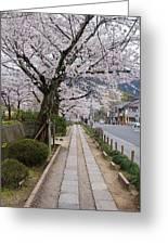 Kyoto In Bloom Greeting Card
