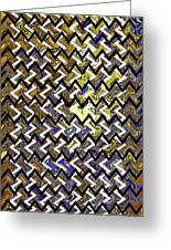 L T Z Abstract Greeting Card