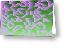 l13-FF9DEC-4x3-2000x1500 Greeting Card