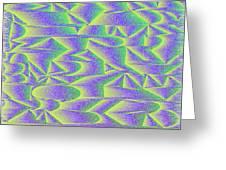 l15-00FFBD-3x2-1800x1200 Greeting Card