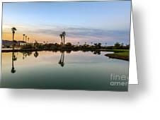 La Barrancas Golf Course Greeting Card