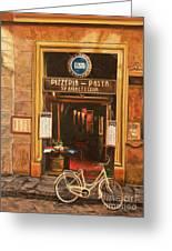 La Bicicletta Greeting Card