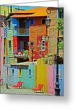 La Boca - Buenos Aires Greeting Card