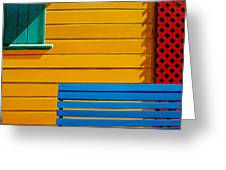 La Boca Street Scene 33 Greeting Card