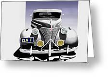 La Bomba Lowrider Greeting Card