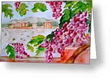 La Casa Del Vino Greeting Card