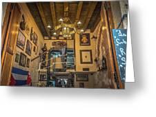 La Cubana Restaurant Greeting Card