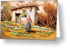 La Donzelletta Greeting Card