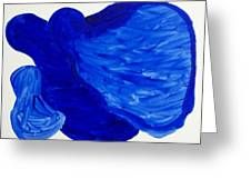 La Famille Bleue Greeting Card