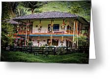 La Finca De Cafe - The Coffee Farm Greeting Card