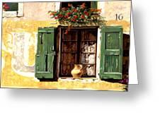 la finestra di Sue Greeting Card