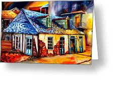 La Fittes Blacksmith Shop Greeting Card