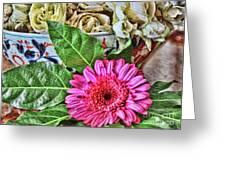 La Flor De La Castellana Greeting Card