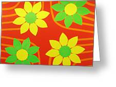 La Flor De La Vida Greeting Card
