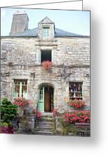 La Gacilly, Morbihan, Brittany, France, Shop Greeting Card