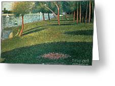 La Grande Jatte Greeting Card
