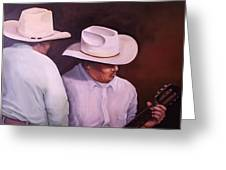 La Guitarrista 30x40 In. Greeting Card
