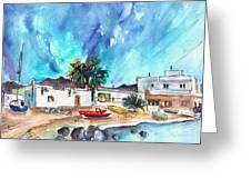 La Isleta Del Moro 07 Greeting Card