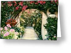 La Jolla Bed And Breakfast Greeting Card