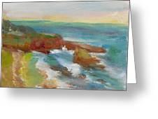 La Jolla Cove 019 Greeting Card