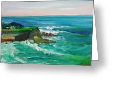 La Jolla Cove 032 Greeting Card