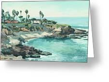 La Jolla Cove In December, La Jolla, San Diego, California Greeting Card