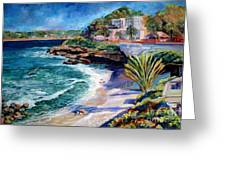 La Jolla Cove Greeting Card