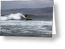 La Jolla Cove Surf Greeting Card
