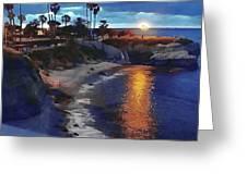 La Jolla Pools Greeting Card