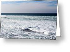 Atlas Ocean /la Jolla Shores Greeting Card