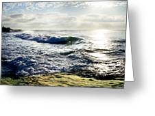La Jolla Towards Casa Cove Greeting Card