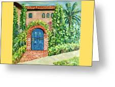 La Jolla Villa Greeting Card