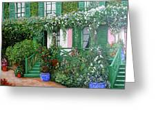 La Maison De Claude Monet Greeting Card