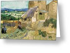 La Maison De La Crau The Old Mill Greeting Card