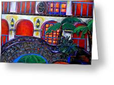 La Mansion Del Rio Greeting Card