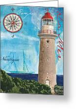 La Mer Greeting Card by Debbie DeWitt