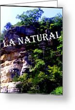 La Natural 2 Greeting Card