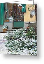 La Neve A Casa Greeting Card
