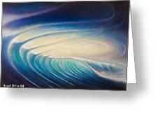 La Ola 2 Greeting Card